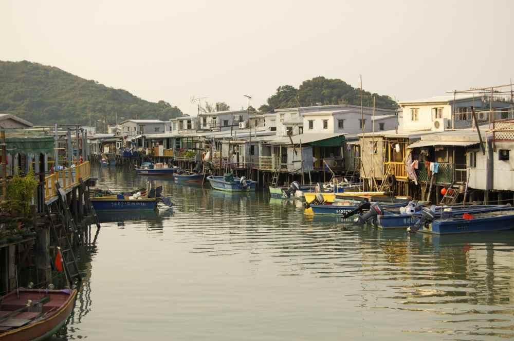 Village de Tai O près de Hong Kong