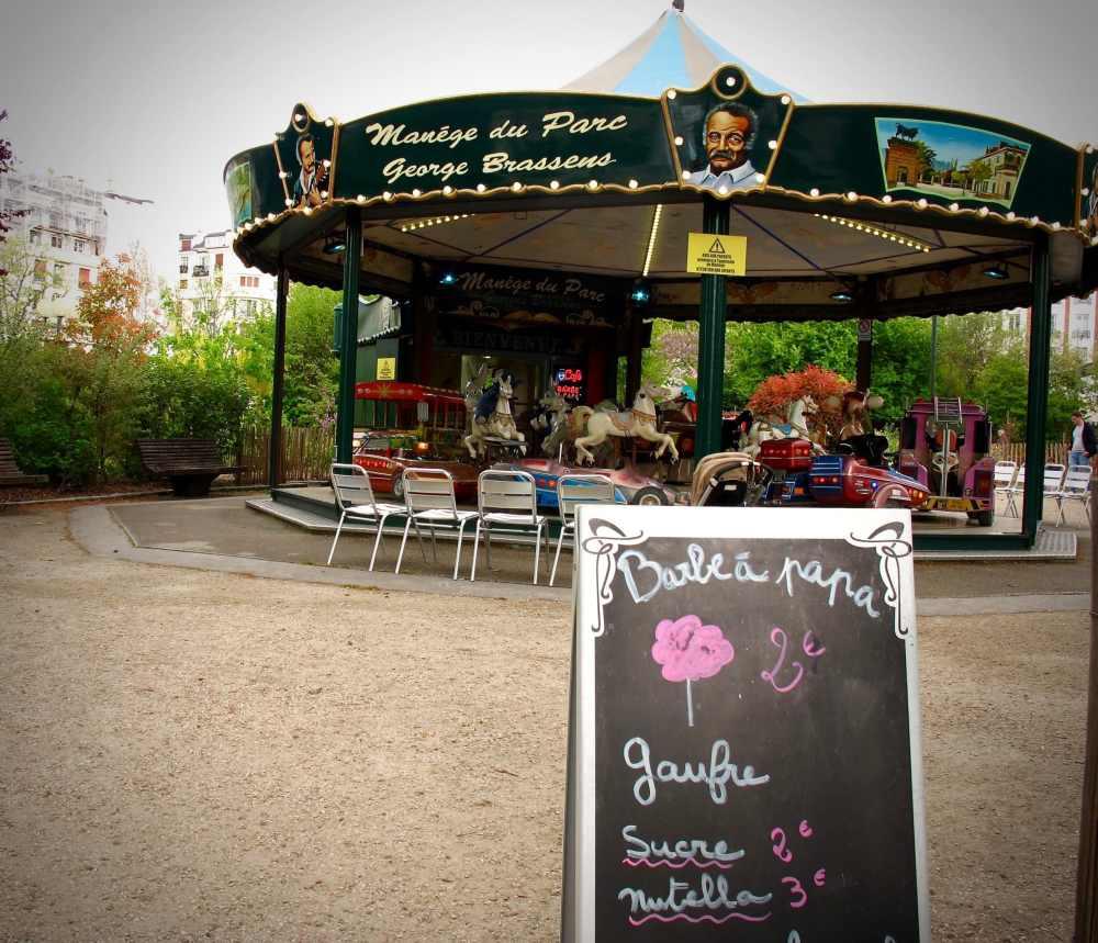 Parc George Brassens Carrousel