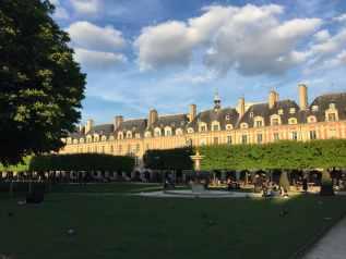 Place Vosges Paris