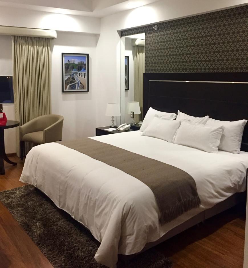 Chambre à l''hôtel José Antonio Deluxe Lima Pérou