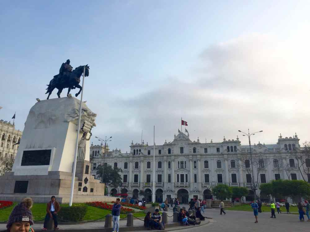 Plaza San Martin Lima Pérou