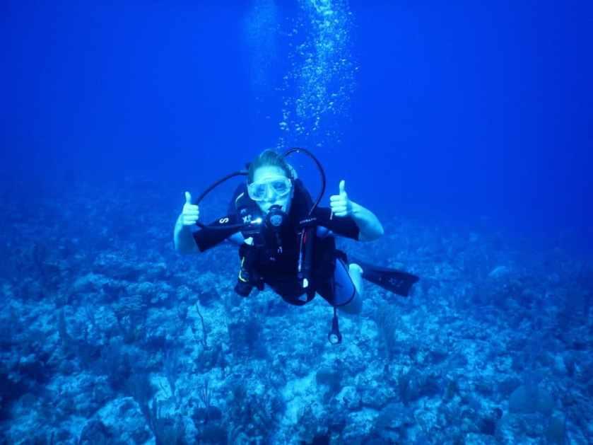 Faire de la plongée au Club Med