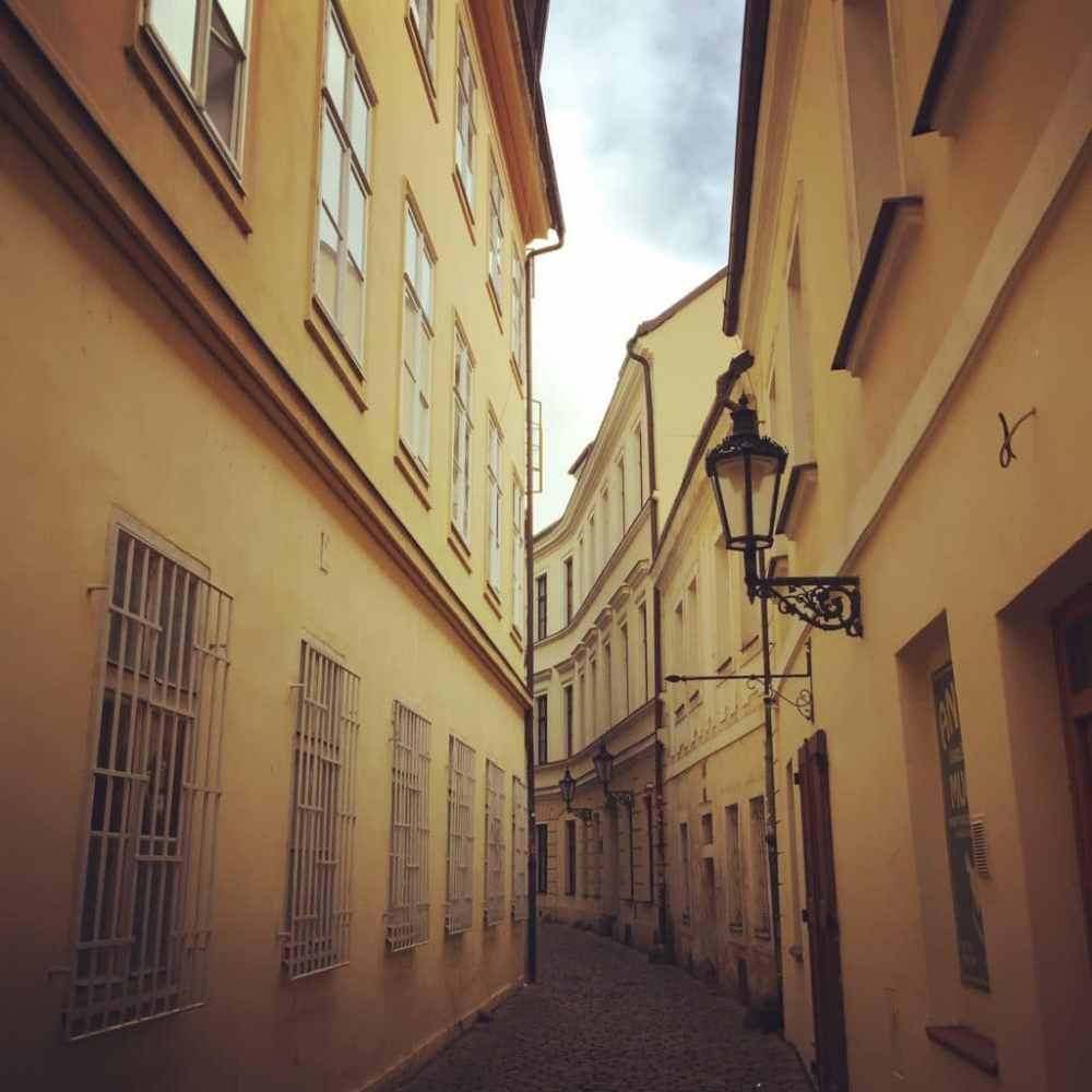 Petite marche dans les rues de Prague