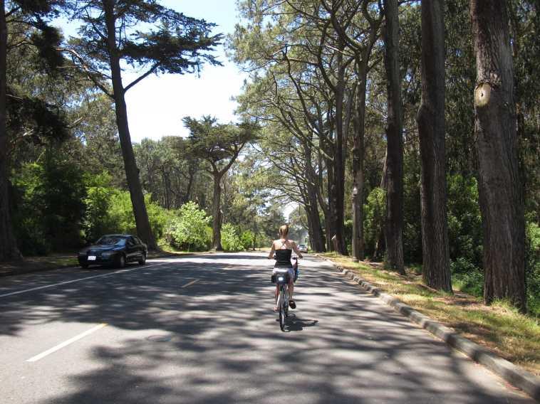 Vélo à San Francisco