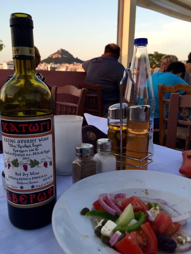 Mezze grec à Athènes