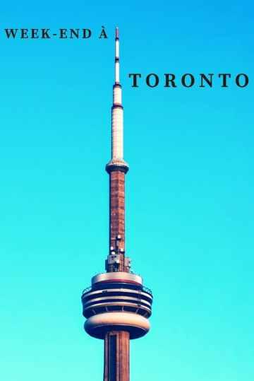 Week-end à Toronto Tour du CN