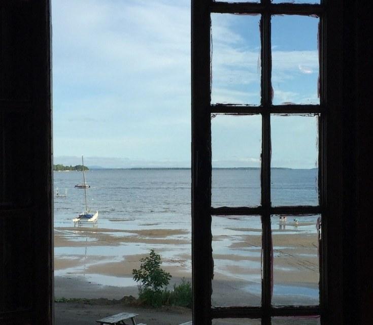 Venise-en-Québec et la plage du Camping du Lac Champlain