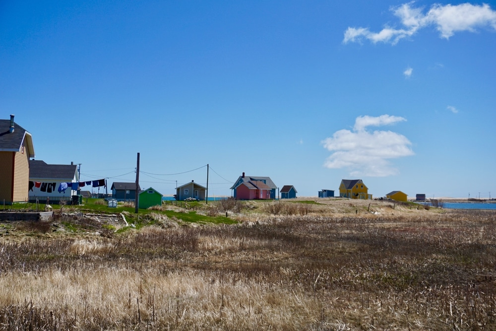 Maisons à la Grave Havre Aubert Iles de la Madeleine