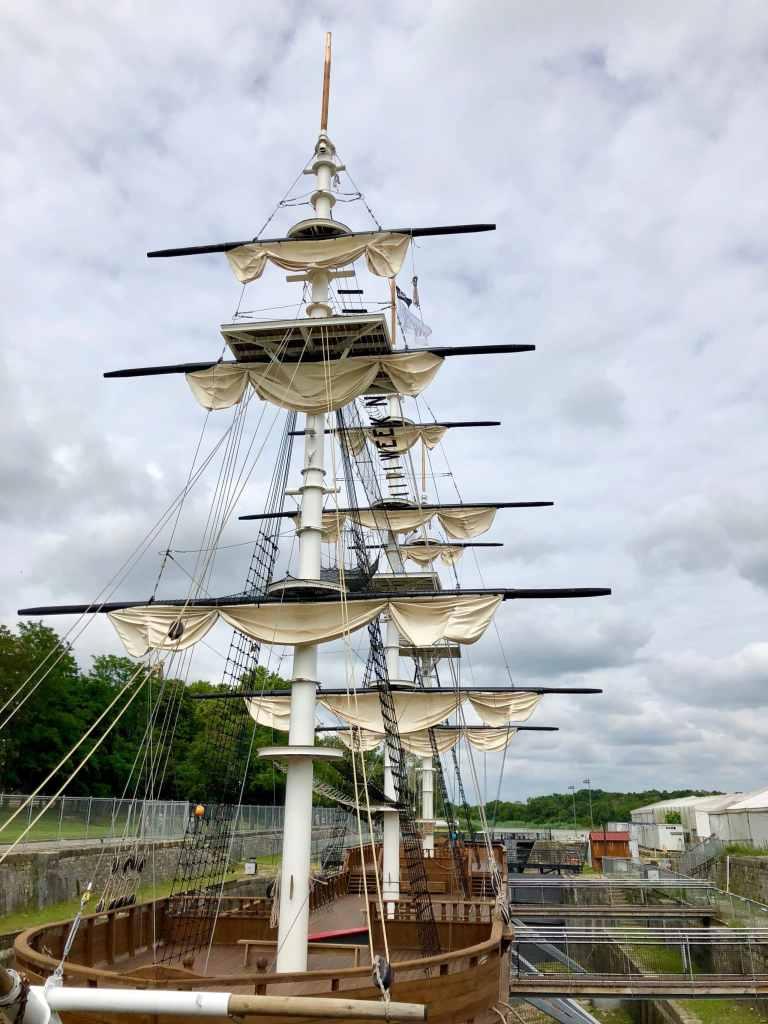 Testez vos aptitudes de matelots chez Accro-Mats à Rochefort, France