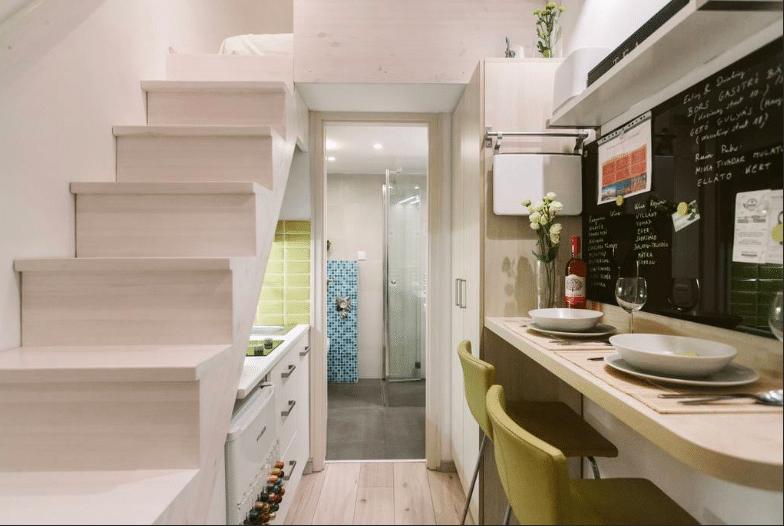 Capsule apartment Budapest Hongrie Airbnb