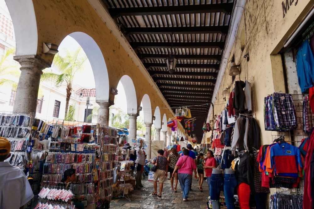 Marché Lucas de Gervès Mérida Mexique