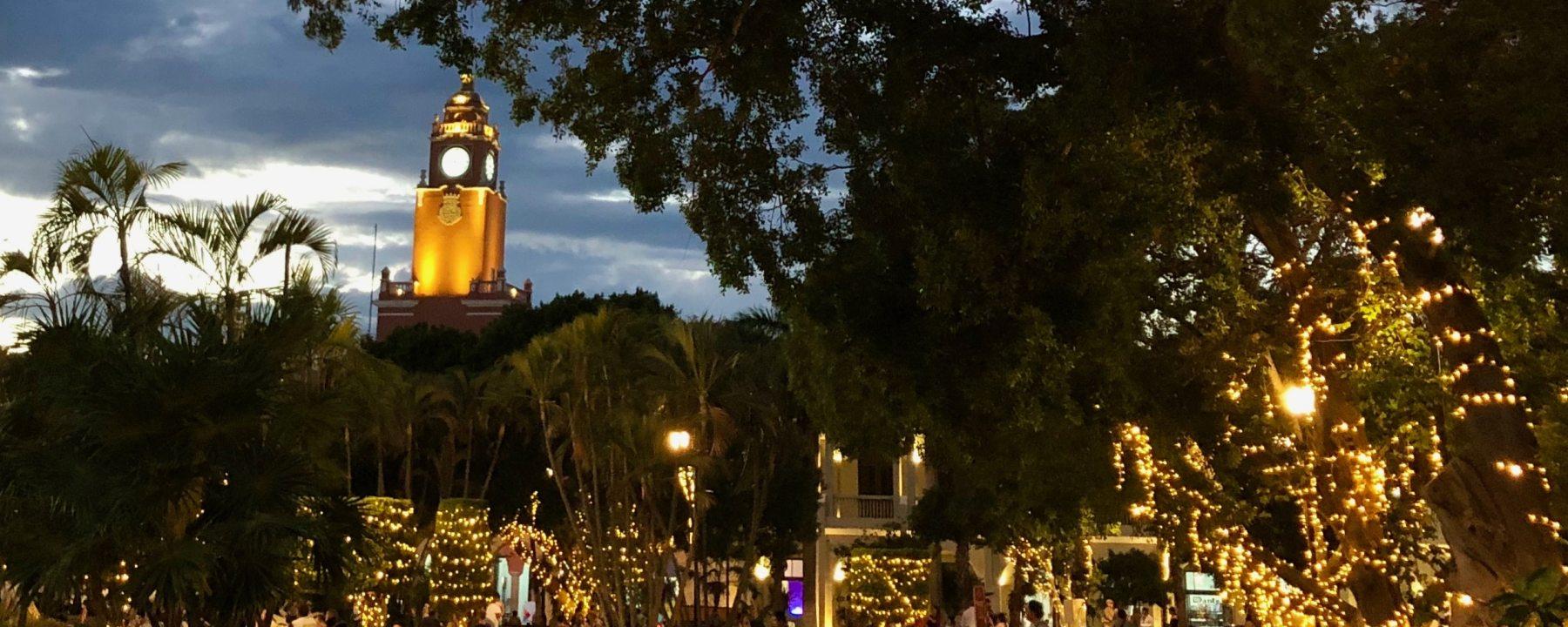 Plaza de la Independencia Merida Mexique