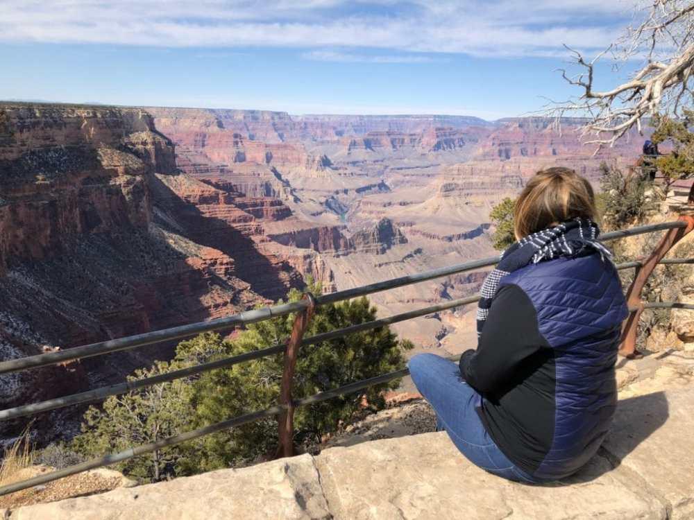 Le Grand Canyon en février sans touriste ou presque! Le plaisir de voyager hors saison
