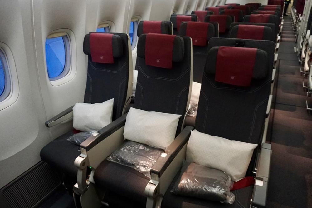 Classe économique à bord de Qatar Airways