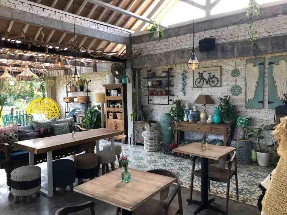 Café The Mocca à Canggu Bali Indonésie