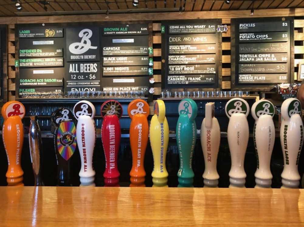 La différentes bières de Brooklyn Brewery