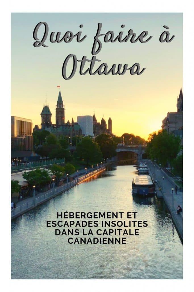 Quoi faire à Ottawa: dormir en prison, street art, escapade