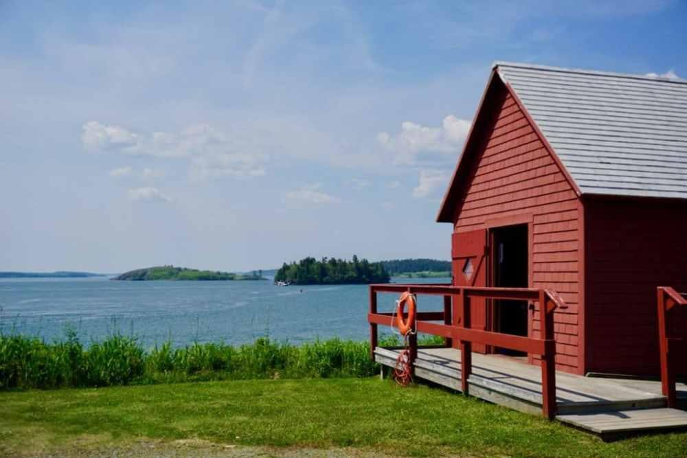 Sur île de Campobello, Nouveau-Brunswick