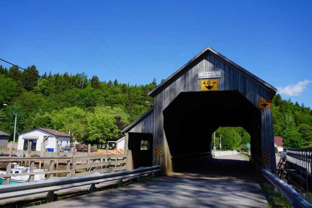 Pont Couvert St Martins NB