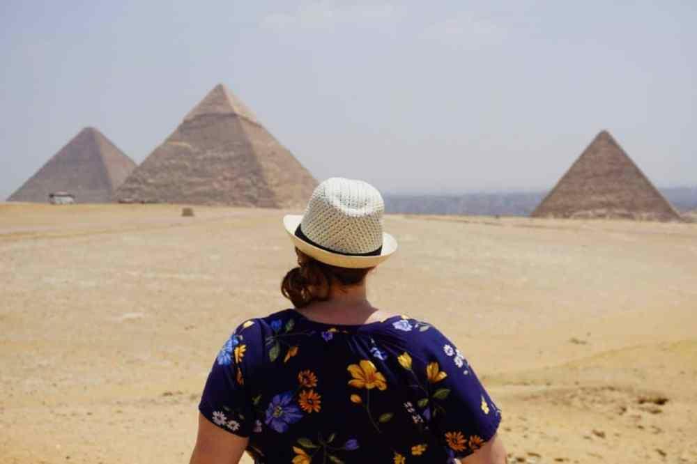 Grandes pyramides d'Égypte au Caire