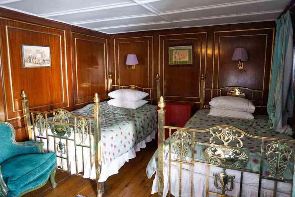 Chambre lits doubles Steam Ship Sudan Nil