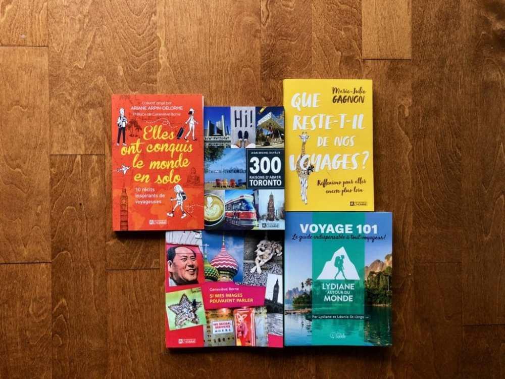 Livres voyage Quebecois 2019