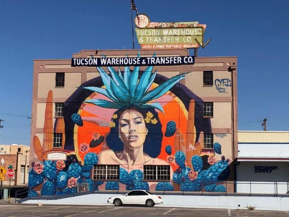 Mural art Tucson Arizona