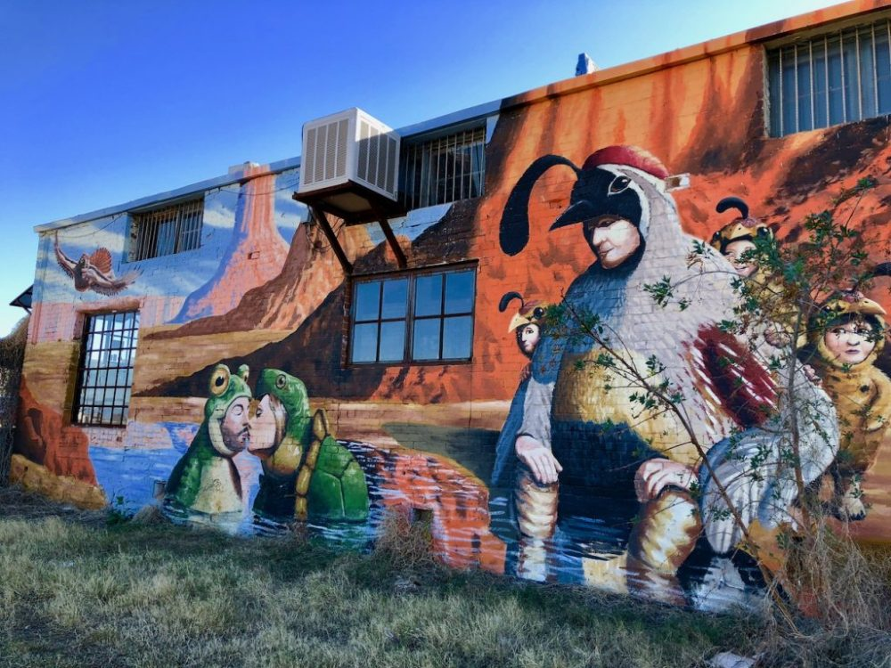 Art de rue à Tuscon Arizona