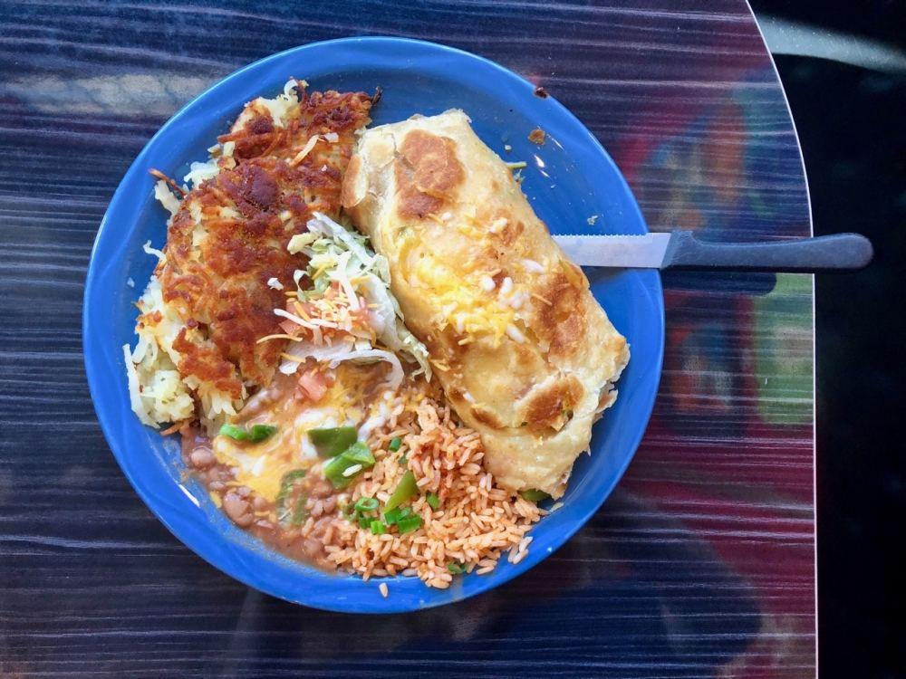 Déjeuner au MartAnne's de Flagstaff Arizona