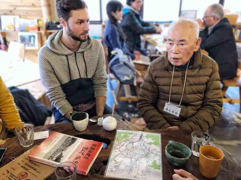 Rencontre avec un survivant de la bombe atomique d'Hiroshima
