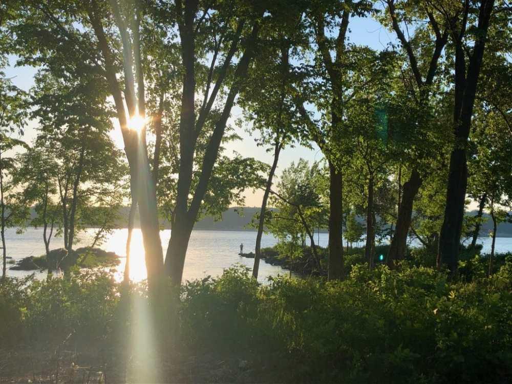 Coucher de soleil au Parc Etchemin Lévis