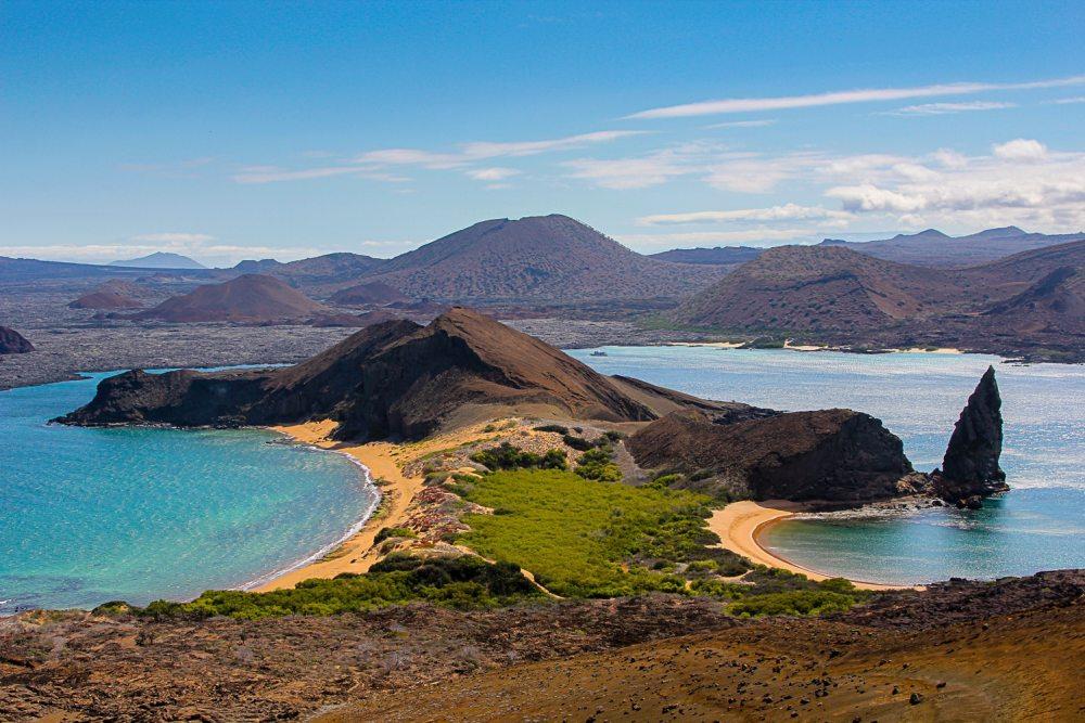 Paysage de l'île Galapagos
