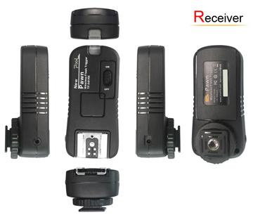 Pixel Rádiós Vaku és Fényképezőgép távkioldó vevő C8 és C6