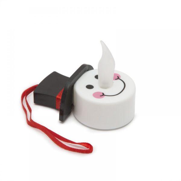 LED-es hóemberfej - akasztható