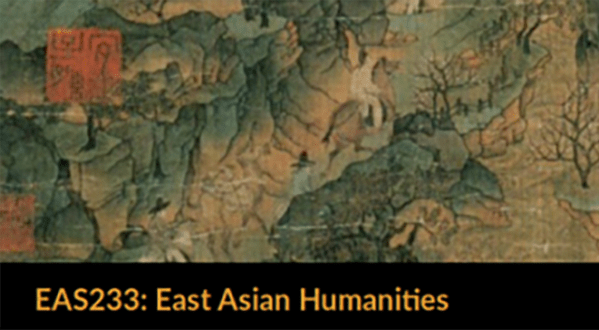 East Asian Humanities banner