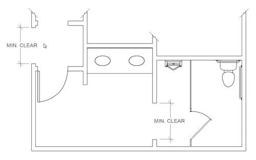 Bathroom Dimensions Ada Compliant Bathroom – Ada Bathroom Design