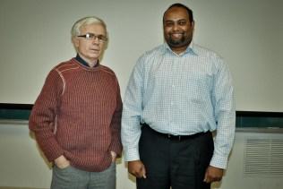 Mostafa Mohammed with supervisor Dr. Necsulescu