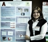 Nona Ahmadi at 2013 Grad Poster Competition.
