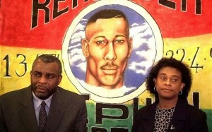 The father and mother of Stephen Lawrence.