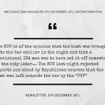 McGurk's Bar Newsletter Disinformation