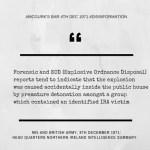MI5 and British Army disinformation: McGurk's Bar