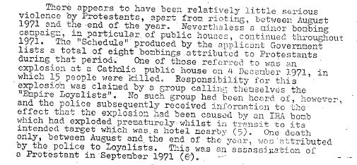 Britain lied to the European Commission about the McGurk's Bar Massacre