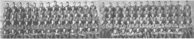 Six months after the founding of the Civilian Conservation Corps, Company 1915 arrived in Hawthorne, and those who could be spared from setting up the camp went directly to work.