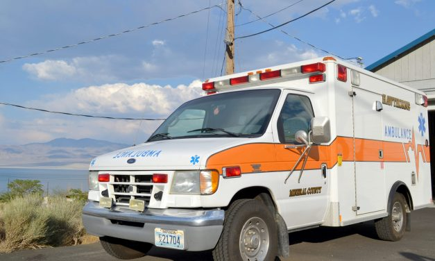 Stolen ambulance recovered at hospital