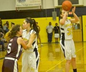 The Mineral County High girl's basketball team hit a snag last week on a journey it hopes will end in the playoffs.