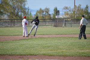 The Mineral County High baseball team dropped two games to Tonopah on April 4. The Serpents lost the first game, 12-11, and then fell 14-4 in the second game.