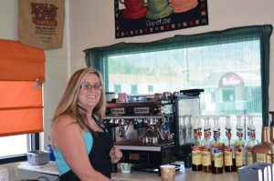 Tara Hall owns Mr. Beane's Coffee located at 768 E. St. The business is open from 5 a.m. to noon Monday through Friday and 6 a.m. to noon