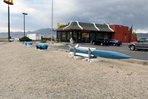 With increased interest in the Hawthorne Ordnance Museum (HOM), within the past month, the McDonald's Family Restaurant in Hawthorne has requested the museum have on display a few of their ordnance items placed