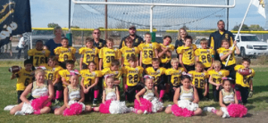 Courtesy photo - The Mighty Mite Pop Warner football team will play in the championship game this Saturday in Reno.