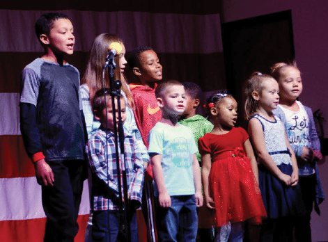Convention Center Filled with Music, Holiday Cheer on Christmas Morning